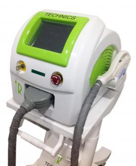 Laser E_ Light para depilación corporal y facial del vello no deseado.